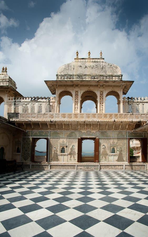 皇家城堡, Udaipur,印度 免版税库存图片