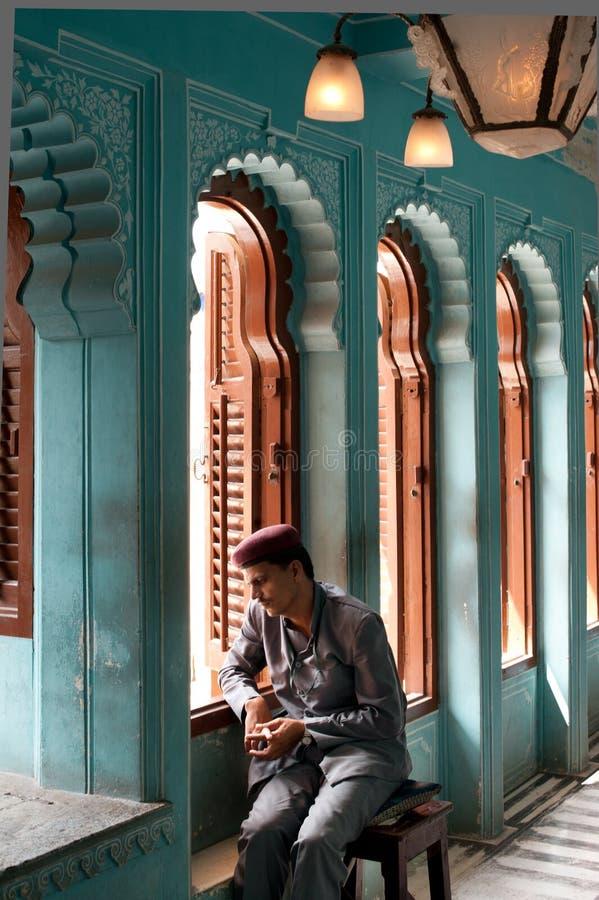 皇家城堡, Udaipur,印度 免版税库存照片
