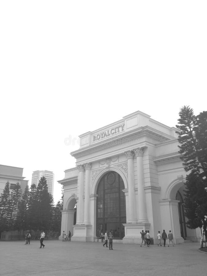 皇家城市门 免版税库存照片