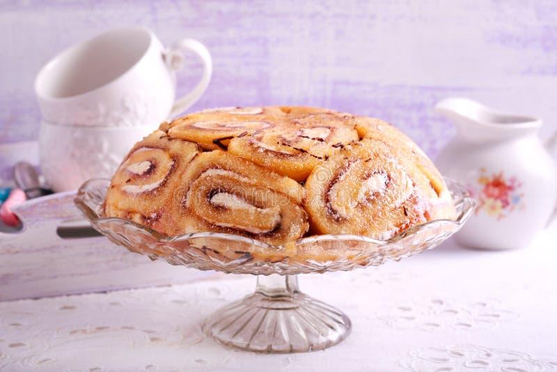 皇家夏洛特蛋糕 免版税库存照片