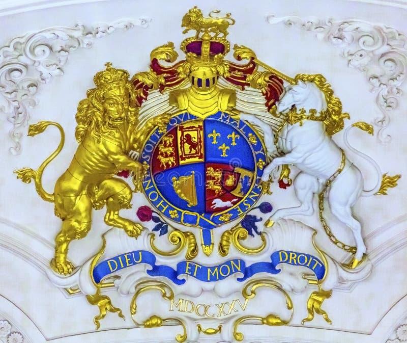 皇家外套武装圣马丁领域英国国教的教堂伦敦英国 图库摄影