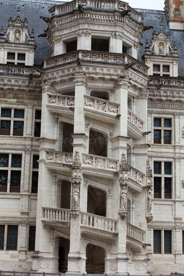 皇家大别墅de布卢瓦 图库摄影