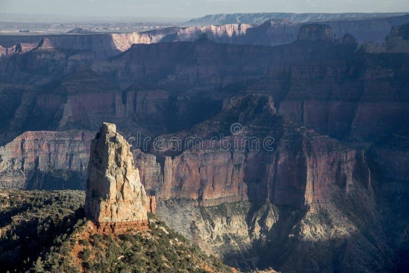 皇家大峡谷的点 免版税库存照片