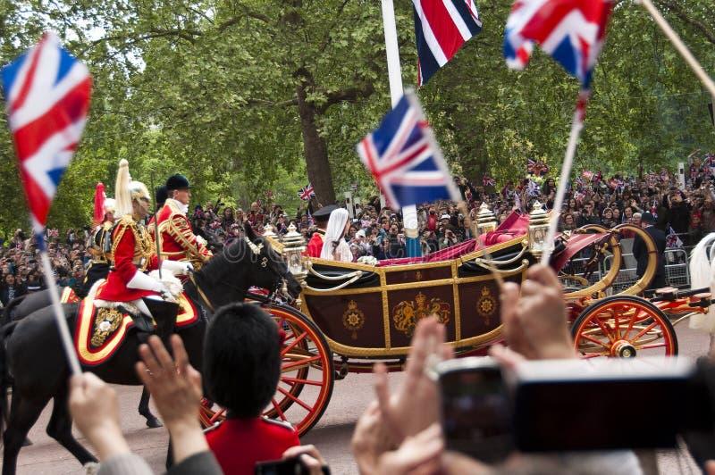皇家婚礼 免版税图库摄影