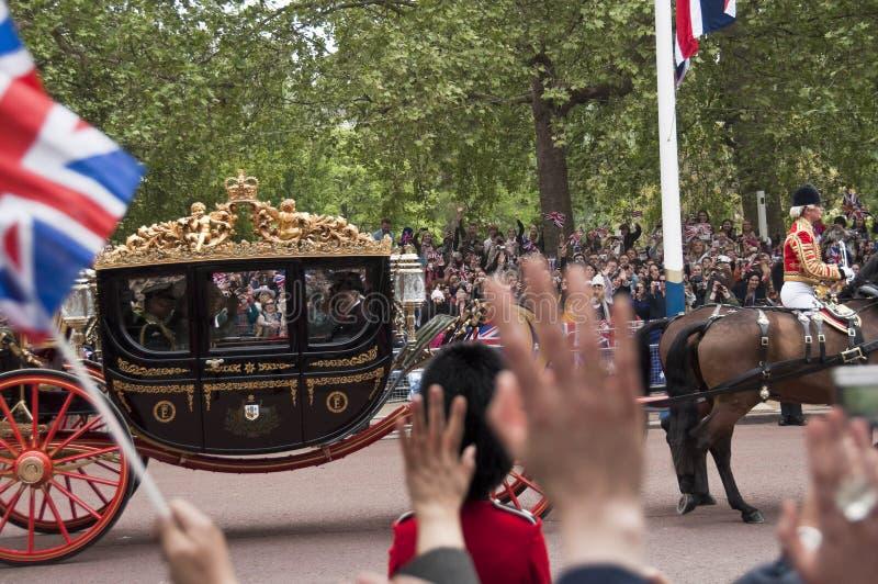 皇家婚礼 图库摄影