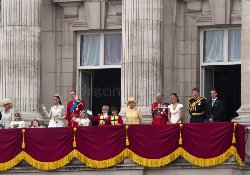 皇家婚礼 免版税库存照片