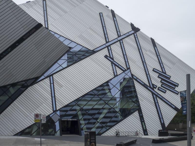 皇家安大略博物馆,多伦多,加拿大 库存照片