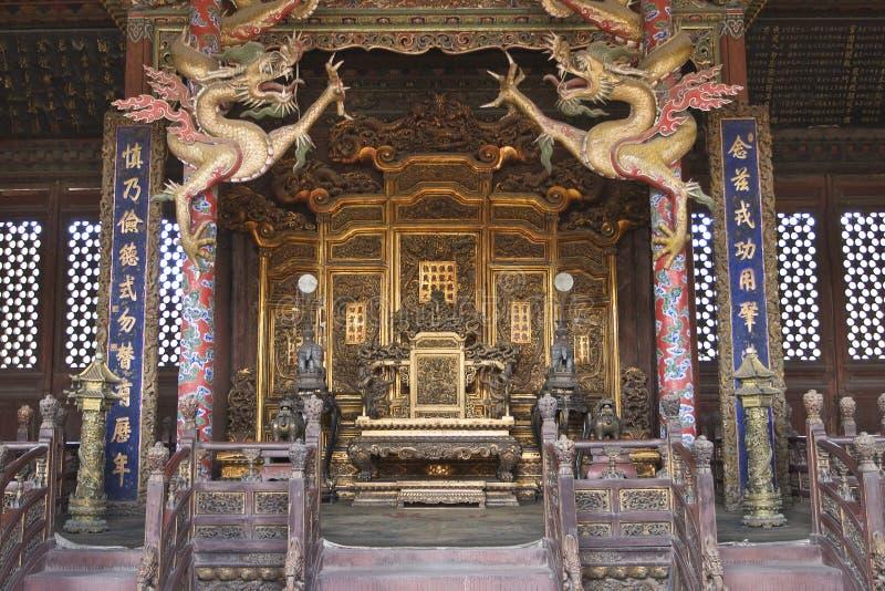 皇家宫殿沈阳 免版税库存照片