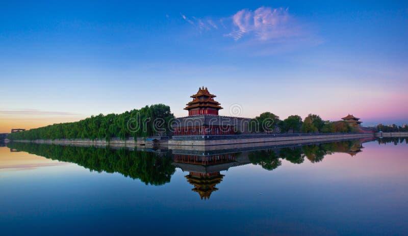 皇家宫殿embrasured城楼全景5# 图库摄影