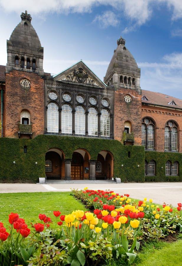 皇家庭院的图书馆 免版税图库摄影