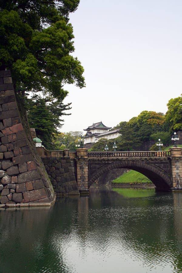 皇家日本宫殿 库存照片