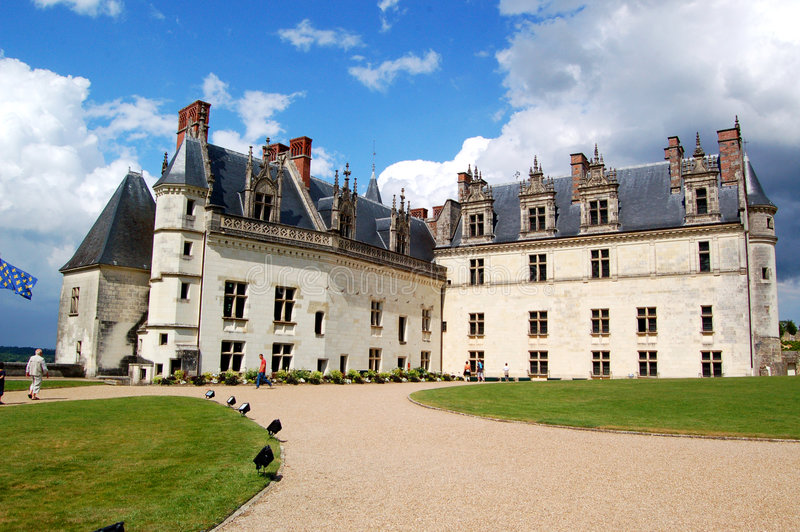 皇家昂布瓦斯的大别墅d 免版税库存图片