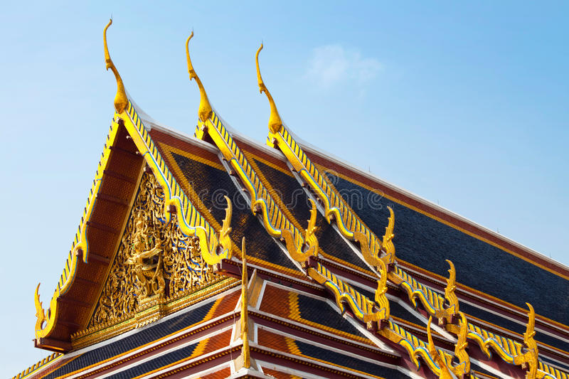 皇家曼谷的宫殿 图库摄影