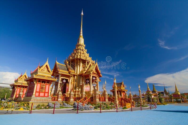 皇家泰国火葬场 免版税库存图片