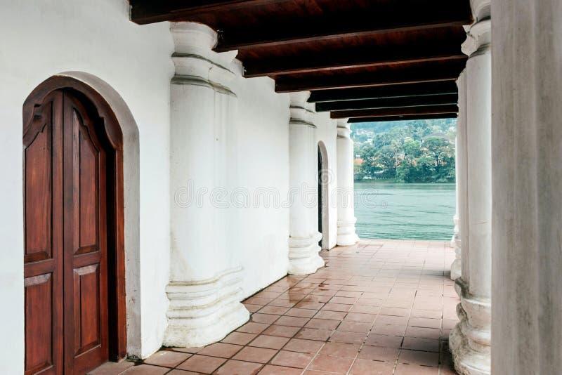 皇家浴建筑学在康提 图库摄影