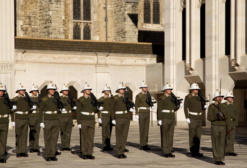皇家海军陆战队员 库存图片