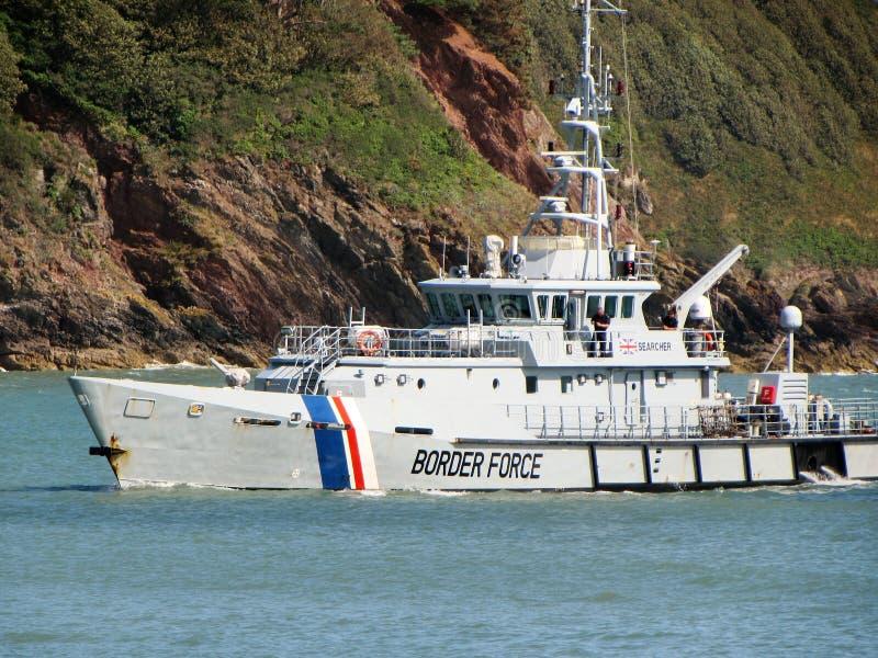 皇家海军移民船 库存照片