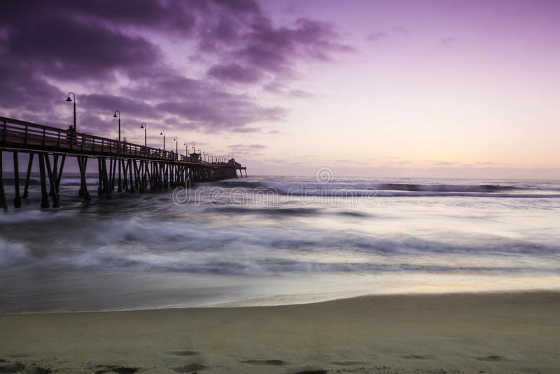 皇家海滩加利福尼亚 库存图片