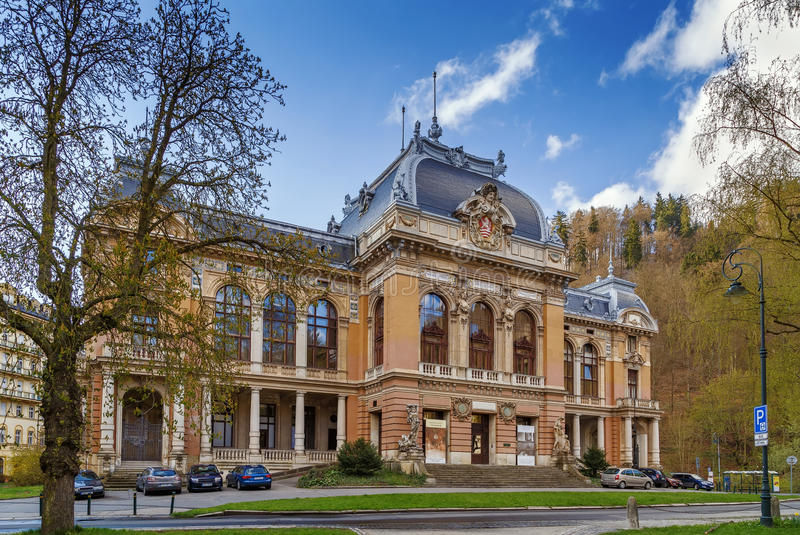 皇家温泉,卡洛维变化 库存照片