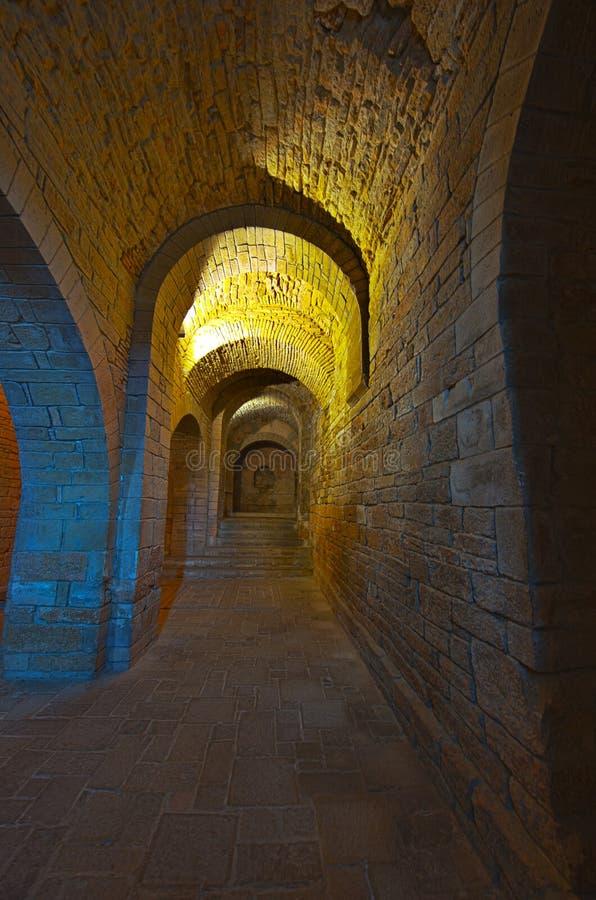 皇家的修道院 免版税库存照片