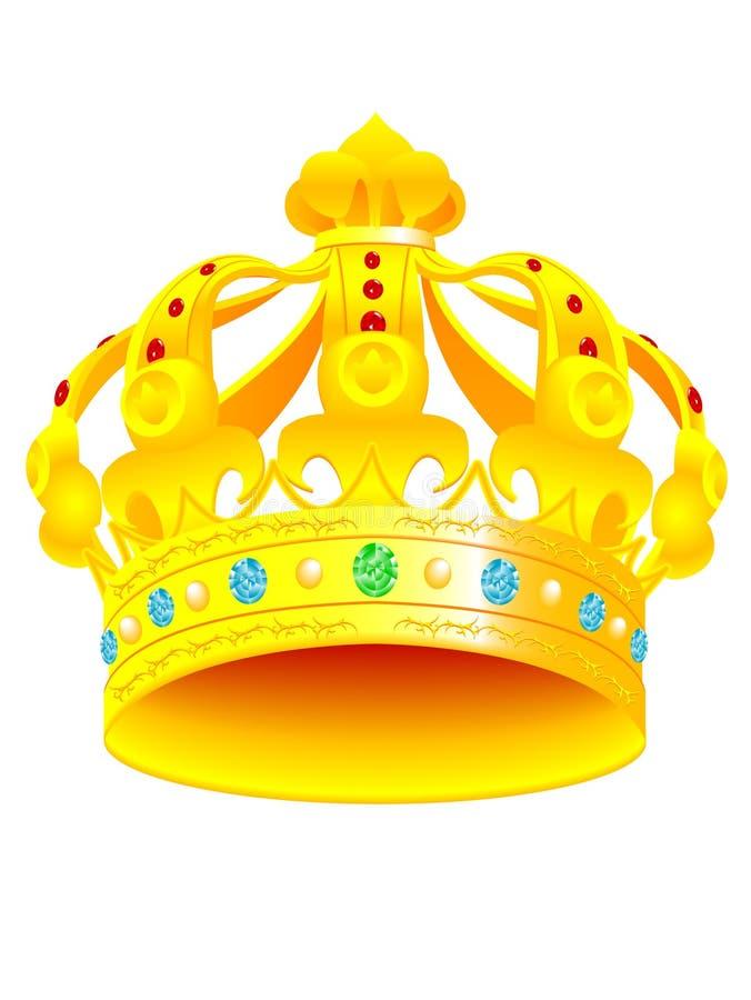 皇家的冠 免版税库存照片