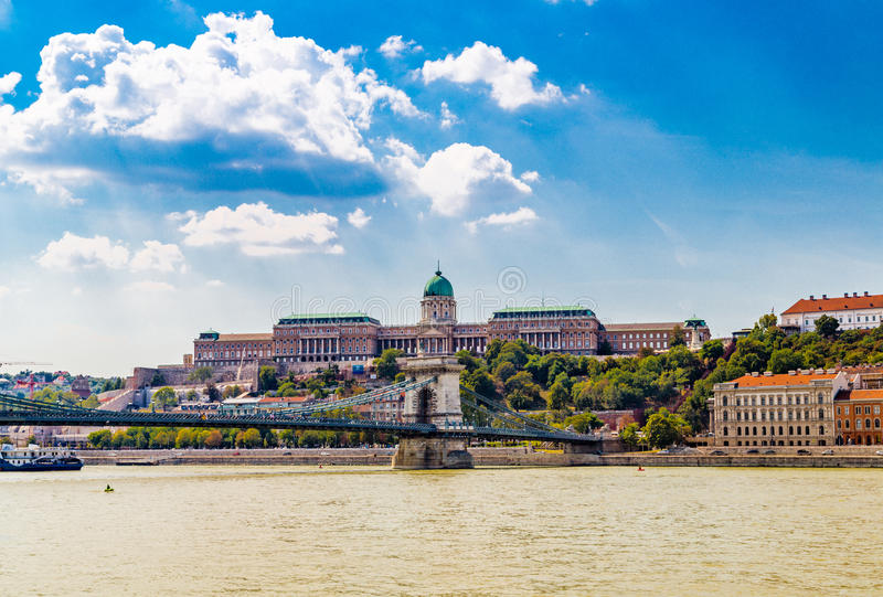 皇家的城堡 库存照片
