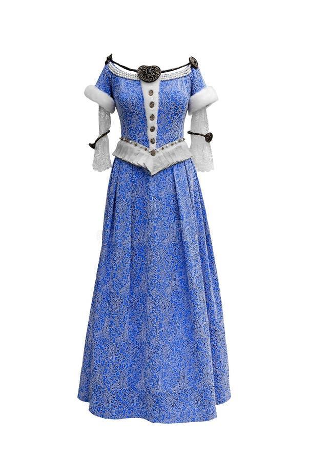 皇家的礼服 免版税库存图片