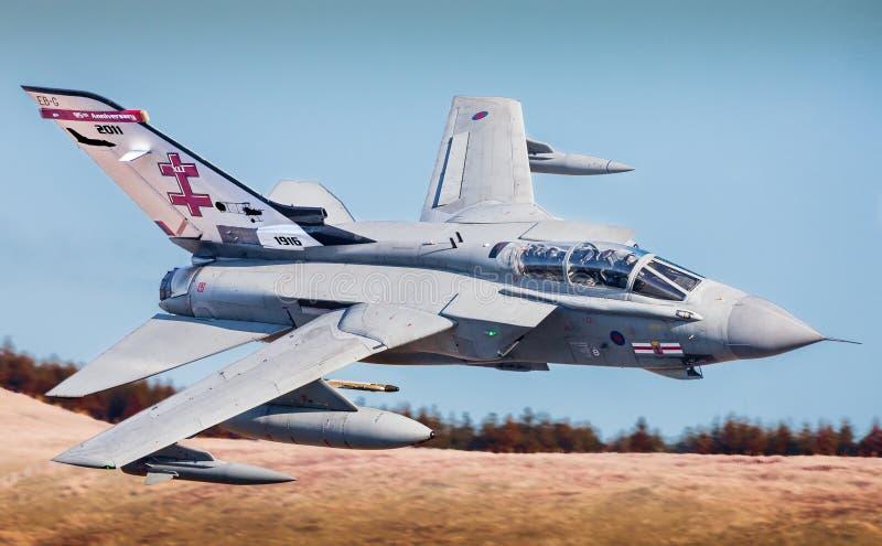 皇家空军喷气式歼击机 库存照片