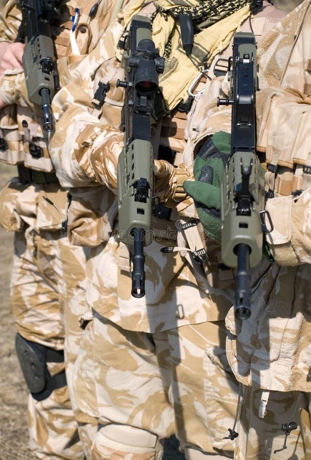 皇家英国的特攻队 免版税图库摄影