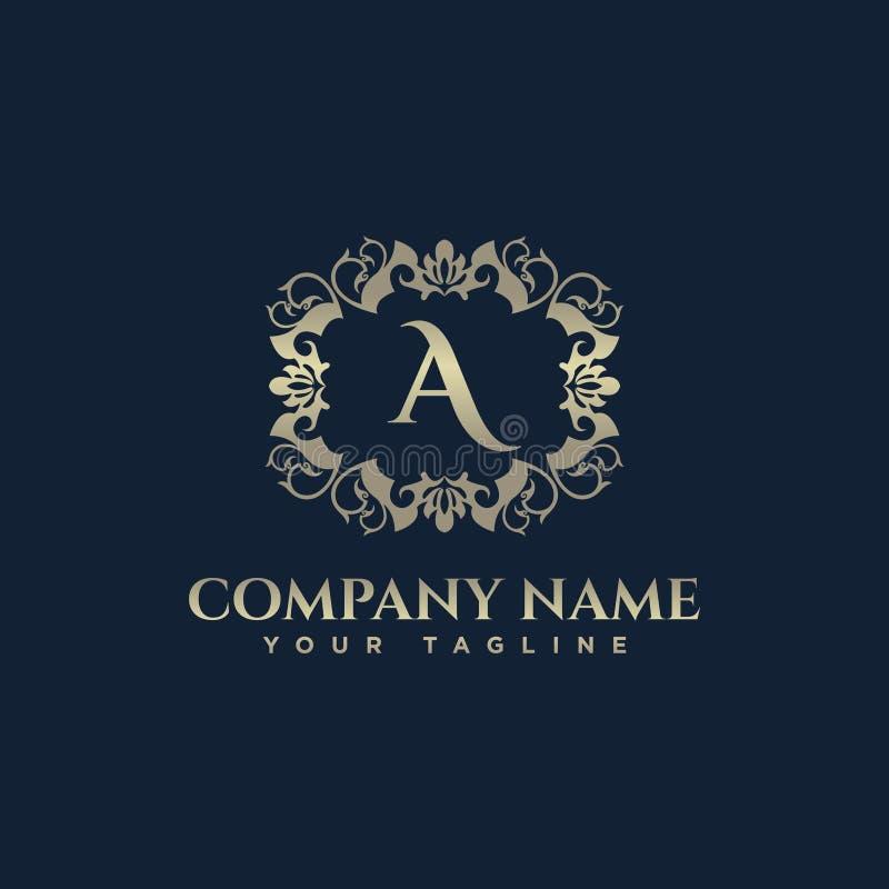 皇家葡萄酒优质商标徽章 在徽标上写字 皇家旅馆,优质精品店,时尚商标, eps8, eps10 皇族释放例证