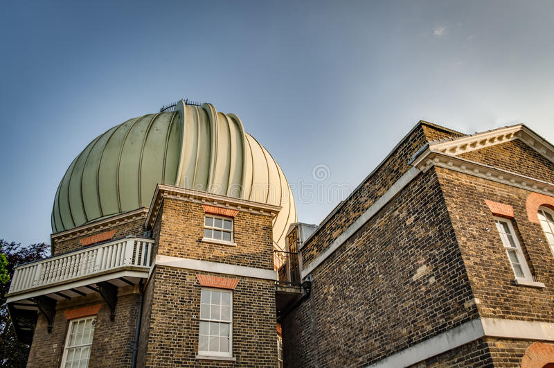 皇家观测所,格林威治公园,伦敦英国 库存图片