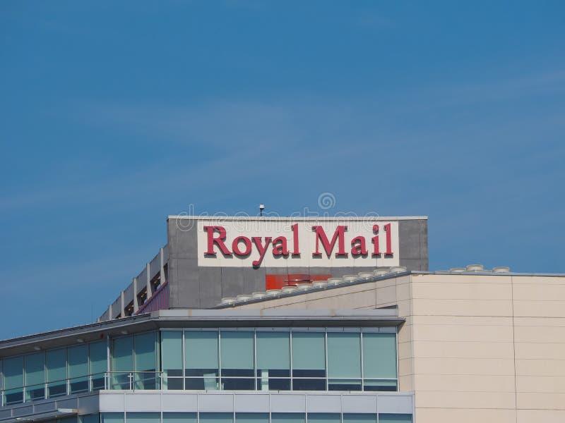 皇家邮件总部在贝尔法斯特 库存图片