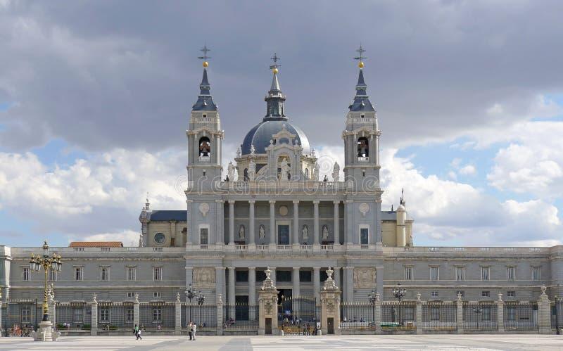 皇家马德里的宫殿 免版税图库摄影