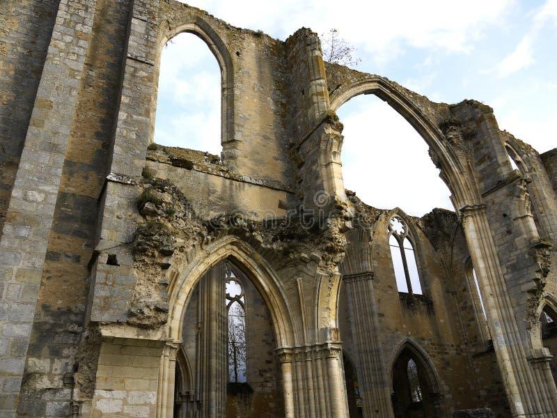 皇家Abbey Notre Dame du Lys 法国 库存图片