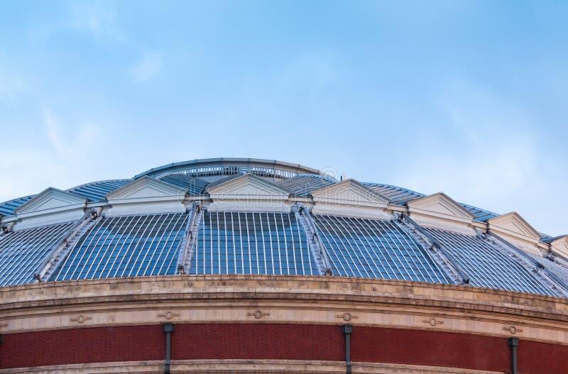 皇家alber大厅伦敦 免版税库存照片