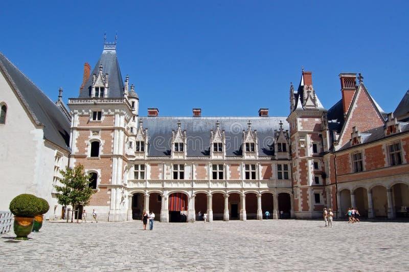 皇家blois的大别墅de 免版税库存图片