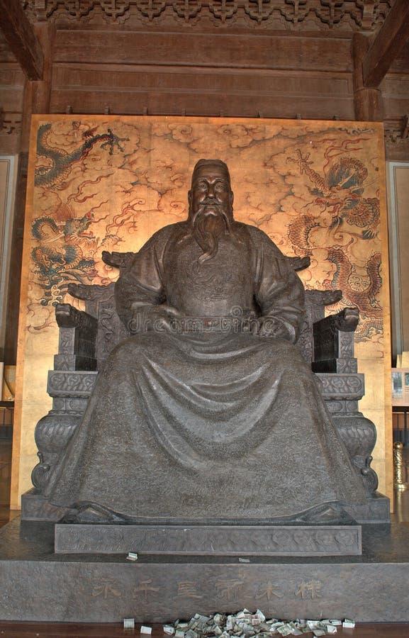 皇帝明朝永乐朝代坟茔,昌平,中国 库存图片