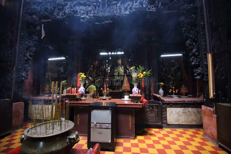 皇帝玉塔,胡志明市,越南 免版税图库摄影