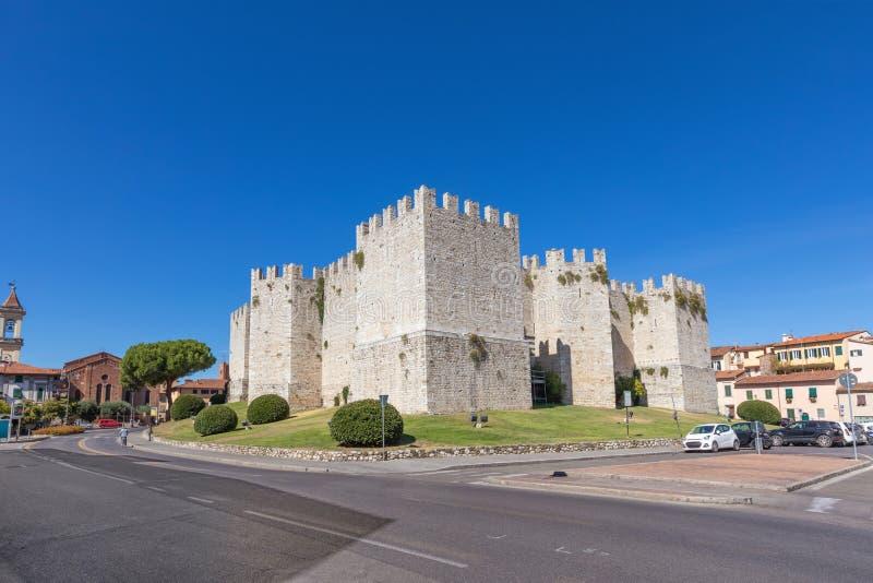 皇帝的Castel在普拉托,意大利 免版税库存照片