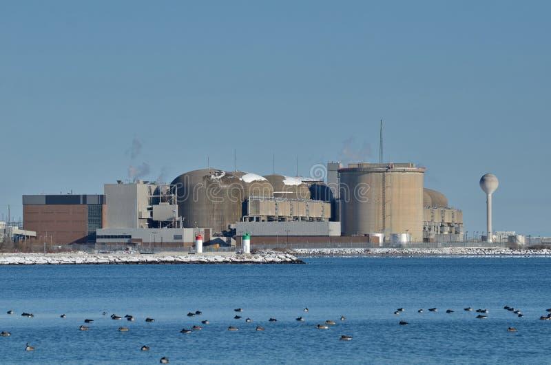皮克林核电站 库存图片
