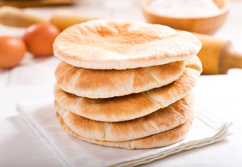 皮塔饼面包 图库摄影