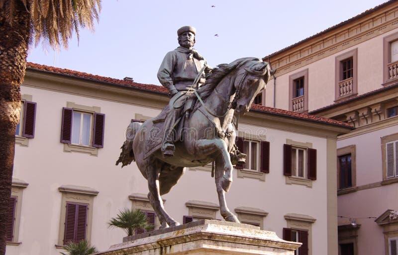 皮斯托亚在托斯卡纳在意大利 免版税库存图片