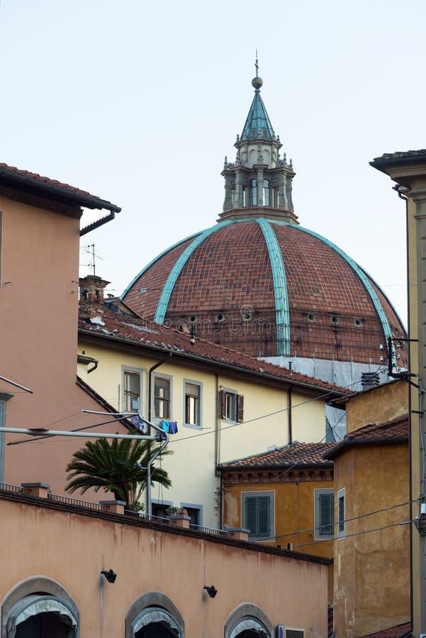 皮斯托亚(托斯卡纳,意大利) 免版税库存图片