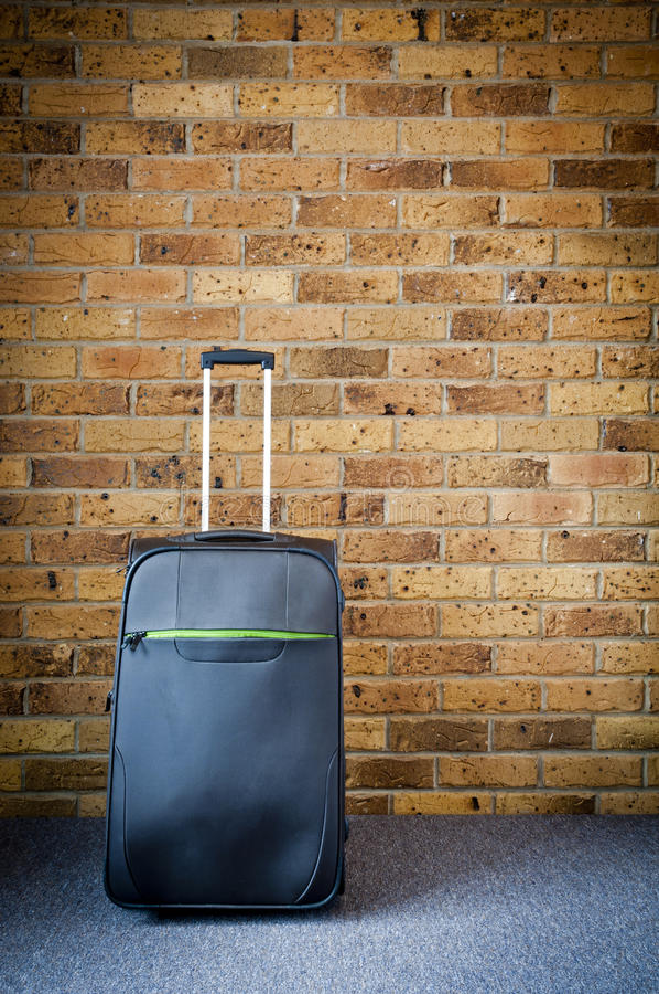 皮箱旅行 免版税库存图片