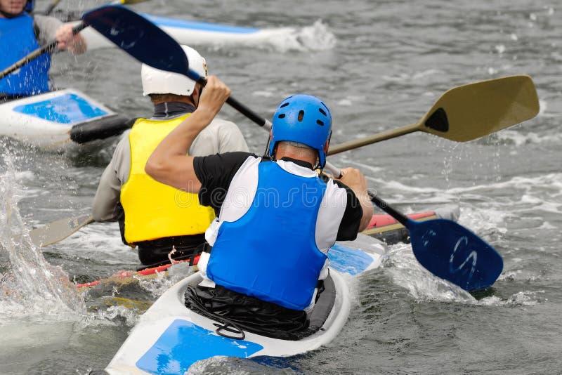 皮船体育运动 免版税图库摄影