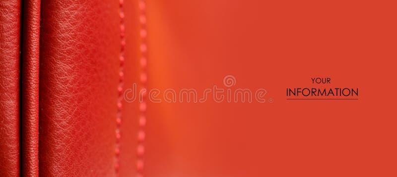 皮革妇女` s红色袋子宏观秀丽样式 库存图片