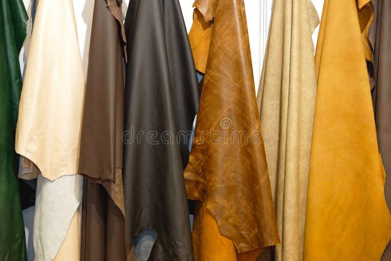 皮革材料 库存图片