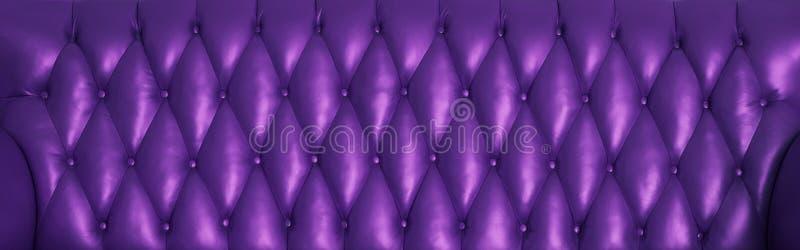 皮革的紫罗兰色表面 免版税库存照片