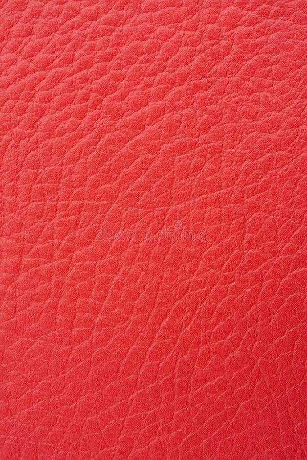 皮革红色 免版税库存照片