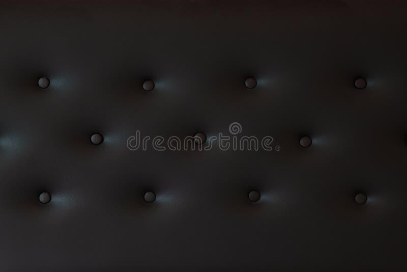 黑皮革 免版税库存图片